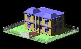 Collection Autocad 3d Home Design Photos The Latest Autocad 3d House Plans