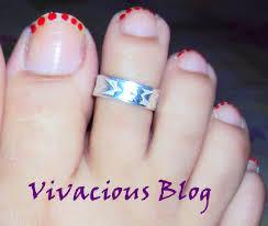 vivacious blog simple nail art for diwali