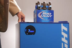 How Much Is A Case Of Bud Light Out Of Beer Bud Light U0027s Smart Fridge Will Tell You
