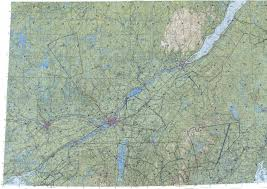 Map Of Montreal Download Topographic Map In Area Of Montreal Quebec Ottawa