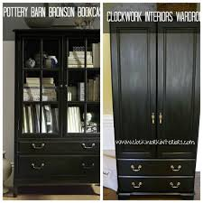 Potterybarn Bookcase Pottery Barn Knock Off Wardrobe How To Get The Look For Less