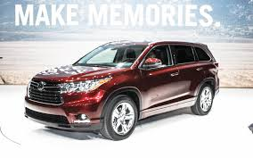 toyota new suv car 2014 toyota highlander photos specs news radka car s blog