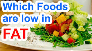 which foods are low in fat low fat foods list youtube