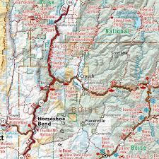 Idaho Hunting Unit Map Idaho Recreation Map Benchmark Maps Avenza Maps