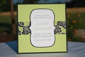 homemade baby shower invitations cloveranddot com