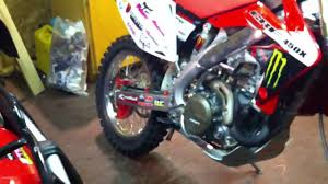 new crf450x with new rekluse clutch so nice youtube