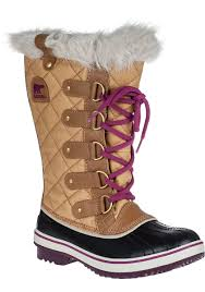 sorel tofino s boots canada sorel tofino quilted water resistant boots in brown lyst