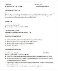 Java Programmer Resume Sample by Programmer Resume Example 15 Resume Templates Plc Programmer