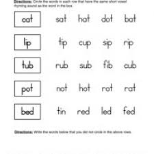 rhyming worksheets first grade free worksheets library download