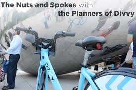 Divvy Map Chicago by The Nuts And Spokes With The Planners Of Divvy Bike Share