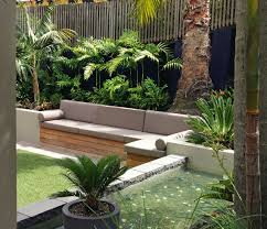 townhouse tropical courtyard garden google search gardens