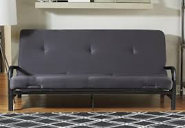my futon sinks in the middle amazon com dhp black metal arm futon frame with a 6 inch futon