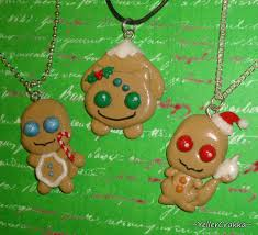 pokemon christmas cookie charm necklaces gen 1 by yellercrakka