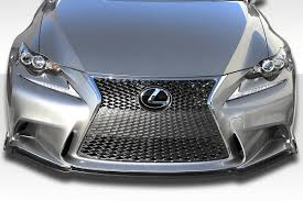 lexus is250 f sport turbo kit 14 15 lexus is350 is250 f sport duraflex am design front lip