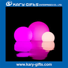 polyethylene outdoor led hanging balls plastic light up balls for