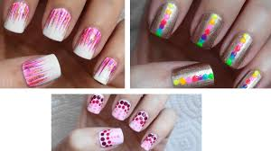 beautiful nail art for beginners image via easy nail art designs
