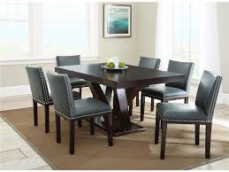 Light Dining Chairs Dining Room Contemporary Leather Dining Chairs In Grey With