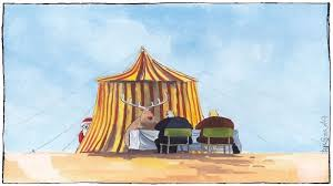 sketch the circus comes to the scottish parliament holyrood