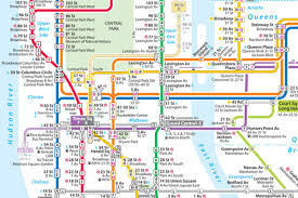 Subway Map by 1979 Subway Map Designer Takes New Routes With Upgrade Curbed Ny