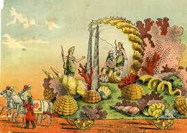 mardi gras float themes mardi gras floats of 1896 the mystic krewe of comus visions of