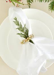 napkin ring ideas diy jingle bell napkin ring boxwood avenue