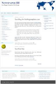 xml blogger templates newspaper iii all template