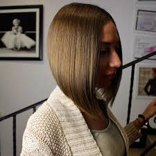 hair cut with a defined point in the back 50 spectacular blunt bob hairstyles