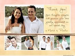 wedding thank you postcards easy wedding thank you card wording templates a practical wedding