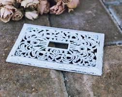 Shabby Chic Switch Plate by Wall Switch Plate Etsy