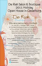 Christmas Open House Ideas by De Riah Boutique U0026 Salon To Hold Annual Holiday Open House On