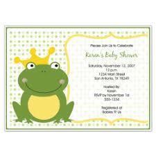 frog baby shower frog baby shower invitations themesflip