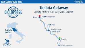 Orvieto Italy Map by Bike Tour Tuscany U0026 Umbria Pienza To Orvieto Cicloposse