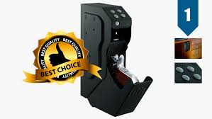 bedroom gun safe best night stand gun safe review