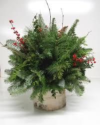 christmas arrangements centerpieces u0026 greenery arrangements
