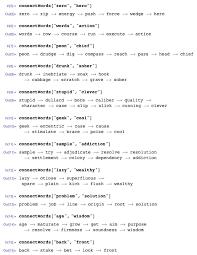 the distance between u201czero u201d and u201chero u201d exploring synonym chains