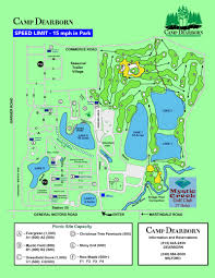 Dearborn Michigan Map by Outdoor Michigan Camp Dearborn City Park