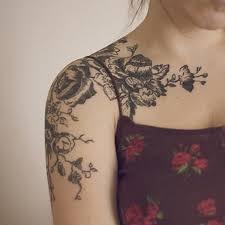 royal rose tattoo 2 rose shoulder tattoo on tattoochief com