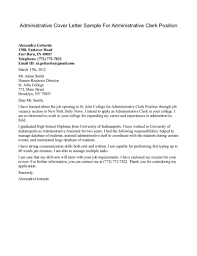 cover letter for administrative position crna cover letter