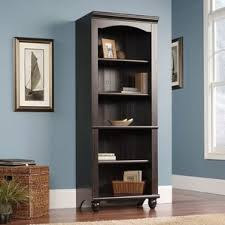 Carlyle Large Bookcase Espresso Bookcases You U0027ll Love Wayfair