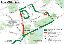 London Bus Map Bus Service Proposal Route 462 Transport For London Citizen Space