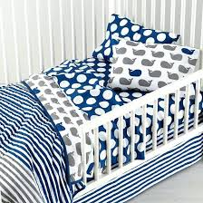 matching toddler and crib bedding whale nursery bedding pottery