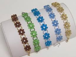 flower beaded bracelet images Flower bead bracelet bracelets jewelry jpg