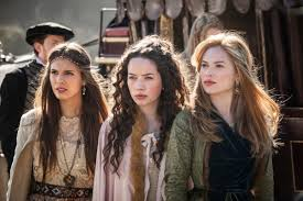 reign cw show hair weave beads the reign costume designer shopped for 16th century costumes on