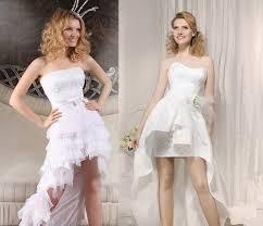 robe mari e courte devant longue derriere design robe courte devant longue derriere mariage robe de mariée