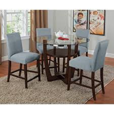Dining Tables   Piece Round Counter Height Dining Set  Piece - 7 piece dining room set counter height