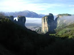 Meteora Greece Map by Meteora Area Of Exceptional Beauty Trikala Gtp
