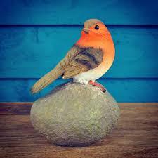 robin garden ornament by garden selections