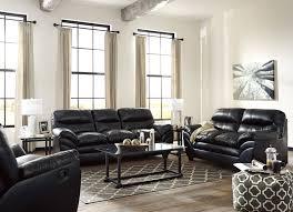 3 Pc Living Room Set Tassler Durablend Black Polyester Pvc 3pc Living Room Set Living