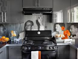 backsplashes for kitchens create a vinyl photo backsplash hgtv