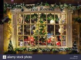shop display window broadway cotswolds worcestershire